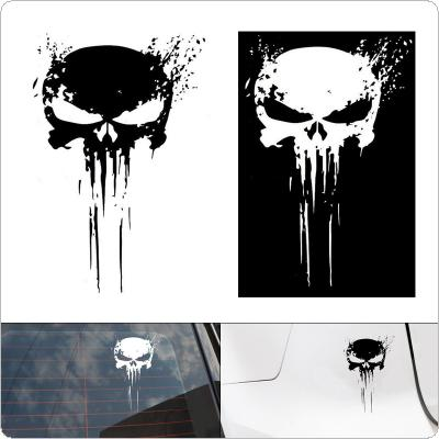 10 x 15CM PET Horror Skull Pattern Outdoor Reflective Car Body / Bumper / Hood / Scratch Sticker