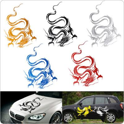 50CM PVC 5 Colors Dragon-style Totem Personality Car Body / Bumper / Hood / Scratch Sticker
