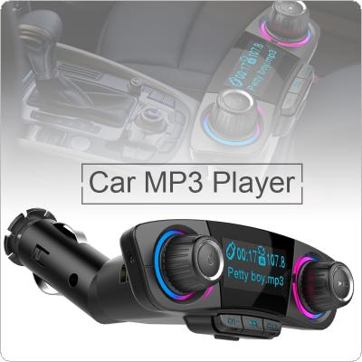 BT06 Multifunction Bluetooth Universal FM Transmitter Dual-USB Audio Car MP3 Player Handsfree MP3 Support TF Card Quick Charge AUX