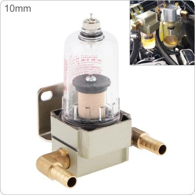 10mm Universal Engine Oil Catch Tank/ Oil Can Filter Out Impurities /Oil and Gas Separator