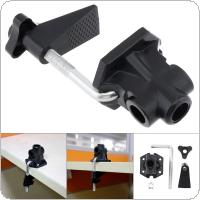 Universal Bracket Clamp Accessories DIY Fixed Metal Clip Fittings Screw Camera Holder for Broadcast Microphone Desk Lamp