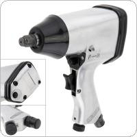 340N.m 7000rpm Handheld Pneumatic Torque Impact Wrench with 1/2 Inch Square Head and Hex Wrench for Automobile Maintenance / Motorcycle Maintenance
