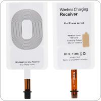 5V 1000mA Current WPC 5W QI Wireless Charging Receiver Patch Pad Wireless Charger Receiver Sticker Fit for iPhone 6 / 6P / 7 / 7P Series