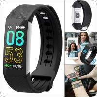 B6A Smart Bracelet  80mAh Waterproof Bluetooth Colorful Screen Wristband with Heart Rate Monitoring and Step Counting for MIUI / IOS / Android