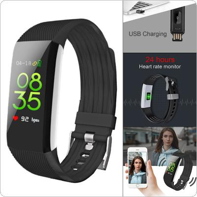B7Pro Smart Bracelet 80mAh Waterproof Bluetooth Colorful Screen Wristband with Heart Rate Monitoring and Step Counting for MIUI / IOS / Android