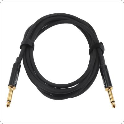 Flanger 3m / 10ft Guitar Super Silent Plug Cable Electric Guitar Connecting Cable No Noise Electricity Buzz