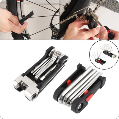 DUUTI 16 in 1Kit Multifunction Repair Tool with Folding Screwdriver Hexagon for  Bicycle Motorcycle