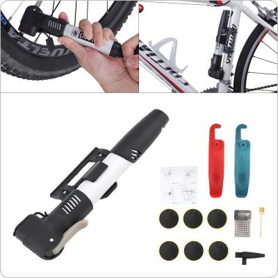 DUUTI  Bicycle Tire Repair Tool Portable Kit with Patch Stainless Steel Rasp Crowbar and Inflatable Needle