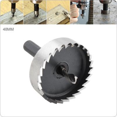 48mm HSS Hole Saw Cutter Drill Bits for Pistol Drills / Bench Drills / Magnetic Drills / Air Gun Drills
