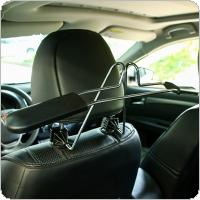 Universal Stainless Steel Retractable Detachable Car Seat Headrest Coat Hanger