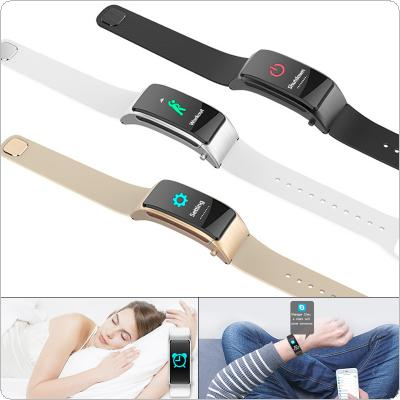 N11P Multifunctional Smart Wristband with Touching Screen for Android/IOS Support Heart Rate Monitoring and Message Notification
