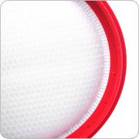 3pcs 130mm Plastic Sweeping Machine Cotton Mesh HEPA Dust Filter Accessory fit for Midea C3-L148B /  VC16C4-RG / C3-143C