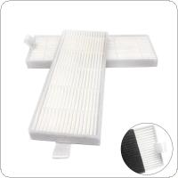 1pcs Primary Plastic Sweeping Machine Cotton Mesh HEPA Dust Filter Accessory fit for iLife A6 / A4 / A4s