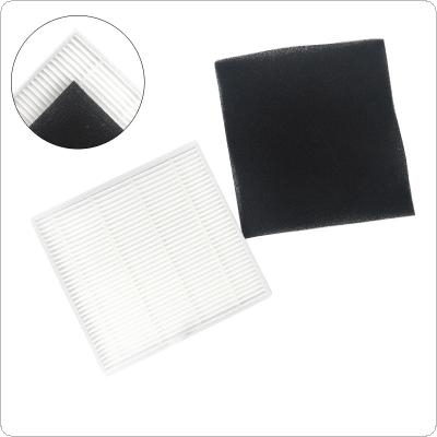 1pcs Primary Plastic Sweeping Machine Cotton Mesh HEPA Dust Filter Accessory ILife  V8 / V8s / X750 / A7 / X800 / X785 / V80