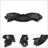Black Nylon + Plastic Sweeping Machine Rolling Main Brush Accessory fit for iLife A4S