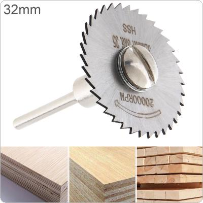 32mm HSS Tool Cutting Mandrel Disc Blade and Circular Blade Mini Saw Blade