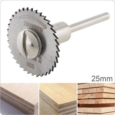 25mm HSS Tool Cutting Mandrel Disc Blade and Circular Blade Mini Saw Blade
