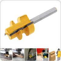 1 / 4 Shank Slant Angle Cutter , Trimming Machine Cutter Head, Boring Cutter, Angle Cutter