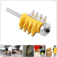 1 / 4 Handle Electric Cutting Tool Woodworking Cutter, Engraving Machine Milling Cutter