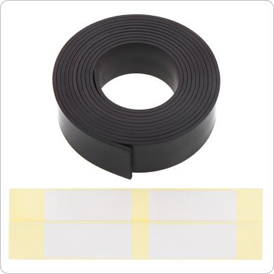 2M Rubber Magnet Replacement  Virtual Wall Magnetic Strip Vacuum Cleaner Parts Accessory with Sticker for XIAOMI MI Roborock Sweeping Robot
