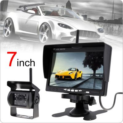 201905/28801-first-1-m.jpg · 7 Inch TFT LCD Car Monitor Wireless Version HD Display Camera Reverse ...