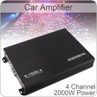 k-1500.4 12V 2000W 4-Channel Audio Stereo Bass Speaker Car Audio Amplifiers Subwoofer Car Audio Amplifiers