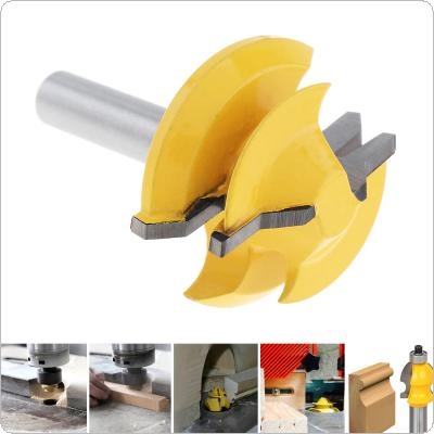 8mm 45 Degree Tenon Milling Cutter with 1-3/8 Inch Blade for Particle Board / Multi-Layer Board / Solid Wood / Medium Fibre Board