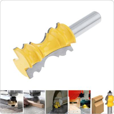 1/2 Inch Door String Course Milling Cutter with 1-1/8 Inch Blade for Particle Board / Multi-Layer Board / Solid Wood / Medium Fibre Board