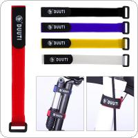 5pcs/set 35cm Nylon Adhesive Tape Cycling Bicycle Pump Bottle Strap for Handlebar Flashlight Inflator