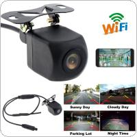 WIFI HD Car Reverse Camera Wireless Car Rear View Waterproof Mobile Phone Camera with Video Recording Function for IOS / Android Phone
