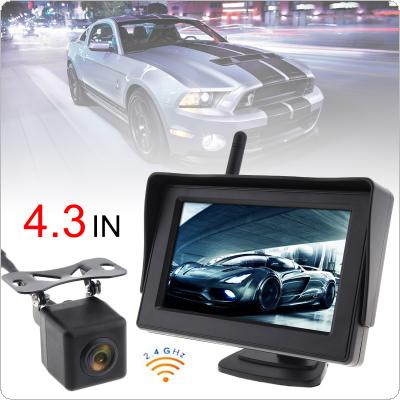 201905/29148-first-1-m.jpg; 4.3 Inch Wireless HD Rearview Monitor Auto Parking ...