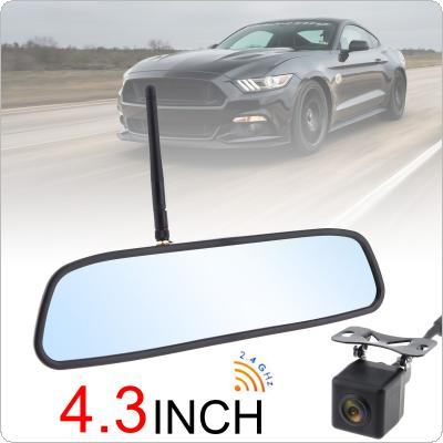 201905/29149-first-1-m.jpg · 4.3 Inch HD Wireless Car Rearview Mirror Monitor Auto Parking System with Rear View Reverse Camera ...
