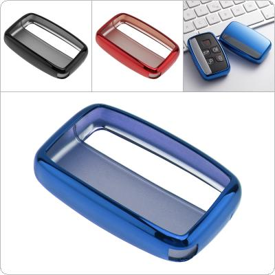 2 Colors TPU Straight Plate  Car Key Case Protector Holder for Land Rover A9 Range Rover Sport Evoque Freelander 2 Jaguar XE XJ XJL XF C-X16 V12