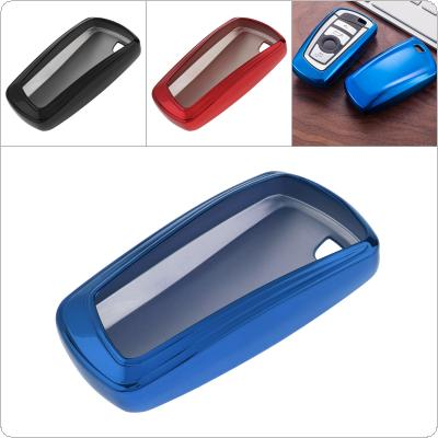3 Colors TPU Straight Plate Car Key Case Protector Holder for BMW 520 525 F30 F10 F18 118i 320i 1 3 5 7 Series X3 X4 M3 M4 M5