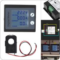 AC Single Phase Digital Electric Saver Power Meter Wattmeter 220V 100A Kwh Energy Meter PZEM-011 with CT Split