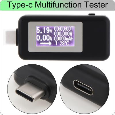 Battery Tester 4V to 20V 0A to 3A USB Charger Power Battery Capacity Tester Voltage Current Meter