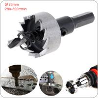 M35 25MM Carbide Tip HSS Drill Bit Hole Saw Stainless Steel Metal Alloy Drilling Hole Opener Tool for Metal / Alloy / Iron / Stainless Cutting