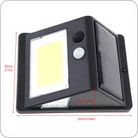 40 COB Solar Light Human Body Induction Rural Street Light Waterproof IP55 Wall Lights with 6 Lights for Outdoor / Garden Lighting