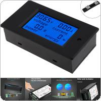 DC Digital Power Meter 6.5-100V 50A 4 IN1 LCD Voltage Current Watt Kwh Energy Meter PZEM-051 with 50A Shunt