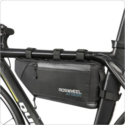 Bike Bicycle Cycling Bag Front Tube Frame Phone Waterproof Bicycle Bags Triangle Pouch Frame Holder Bicycle Accessories