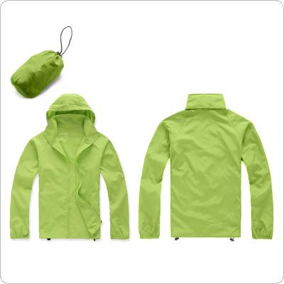 Unisex Waterproof Windproof Jacket Bicycle Running Outdoor Sports Rain Coat