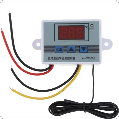 AC 110V-220V Digital LED Temperature Controller 10A Thermostat Thermostatic Control Switch with Probe Sensor