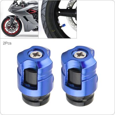 2Pcs Aluminum Alloy Valve Nozzle NCY Tire Refitting Valve Core Modified Motorcycle Parts CNC With Air Nozzle Cover for Motorcycle / Car