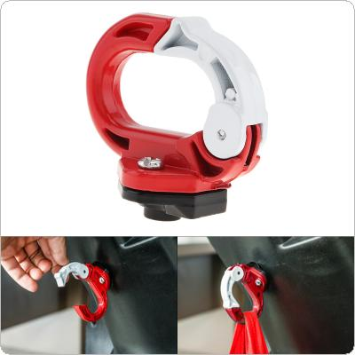 Type O Hook Aluminium Alloy Luggage Helmet Holder Modified Motorcycle Parts Bag Bottle Hook Hanger with Screws for Scooter Bicycle Electric Vehicle