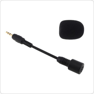 Mini 2.5mm Jack Flexible 100MM Microphone Mic for Mobile Phone / PC / Laptop Notebook / Car