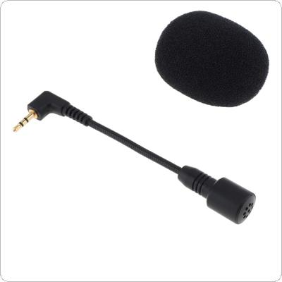 Mini 2.5mm Elbow jack Flexible 100MM Microphone Mic for Mobile Phone / PC / Laptop Notebook / Car