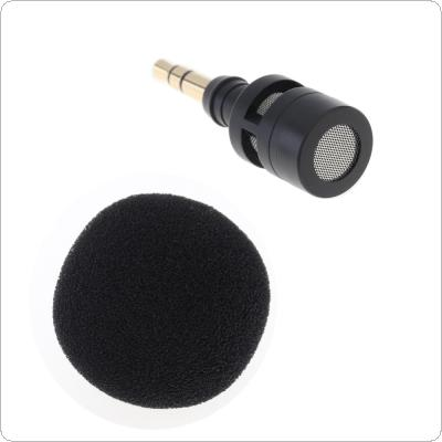 Protable Mini 3.5mm Jack Flexible Omni-Directional  Microphone Mic for Mobile Phone / PC / Laptop Notebook