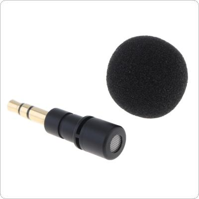 3.5mm Jack Cellphone Smartphone Portable Mini Omni-Directional Mic Microphone