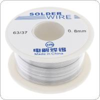 63/37 50g 0.8mm No Clean Rosin Core Solder Tin Wire Reel Tin Lead Wire with 2% Flux and Low Melting Point for Electric Soldering Iron