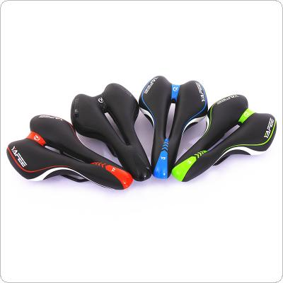 Bicycle Saddle Soft Comfort Mountain Road Bike Saddle Breathable Hollow Bike Seat Bicycle Parts Cycling Accessories